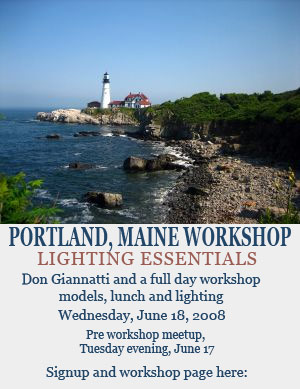 Portland Maine workshop