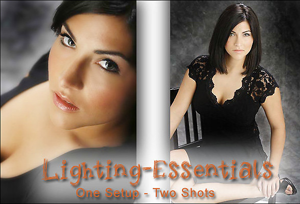 One Light, Two Shots in the Studio
