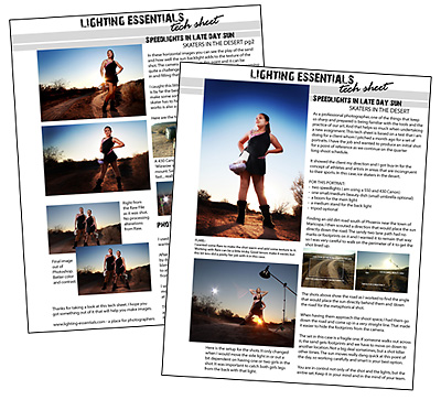 Download our two page Tech Sheet on doing this kind of portrait here