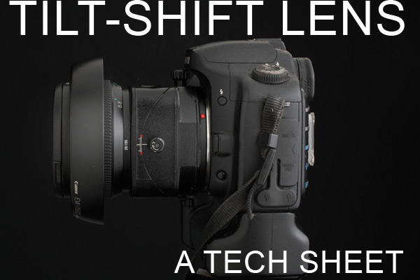 Tech Sheet Tilt-Shift on Lighting Essentials