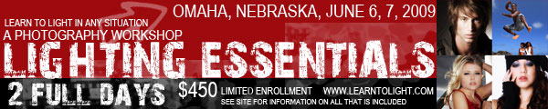 Omaha Nebraska workshop is enrolling now. Limited enrollments, so sign up now