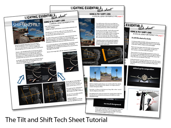 Our Three Page Tilt / Shift Tutorial