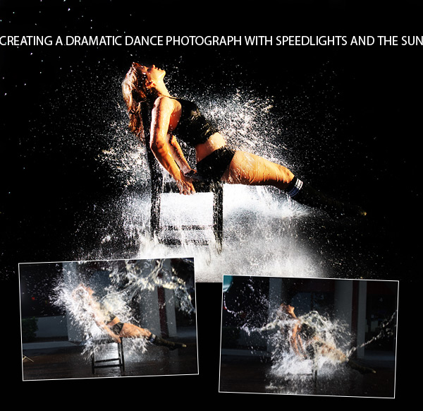Creating a Dramatic Dance Photo with Speedlights and the Sun