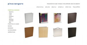 Check out the wonderful selection of portfolios at Pina Zingaro.