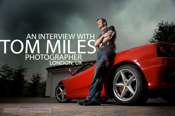 An Interview with Tom Miles, Photographer, London on Lighting Essentials, a place for photographers