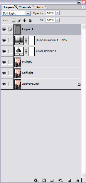 Photoshop Layers for Sam