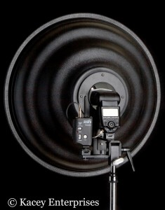 The Single Mount System for the Kacey Beauty Dish on Lighting Essentials
