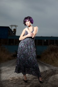 Karen Weiler shoots Aleksandre at the Lighting Essentials Workshop