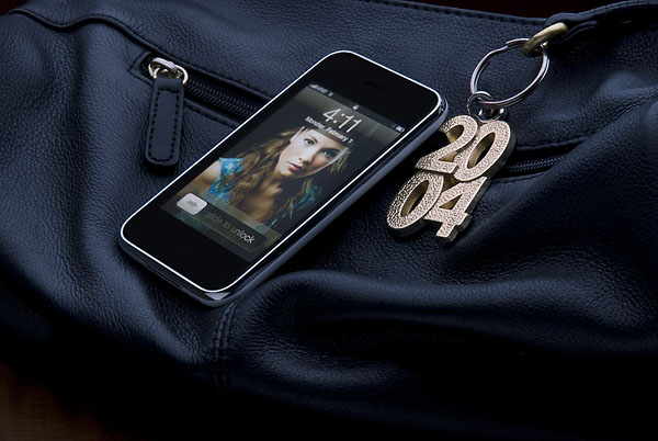 Dan's shot of an iPod on a leather purse was a tricky shot to produce