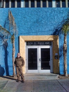 Ken in front of his World Class studio in Phoenix, Arizona
