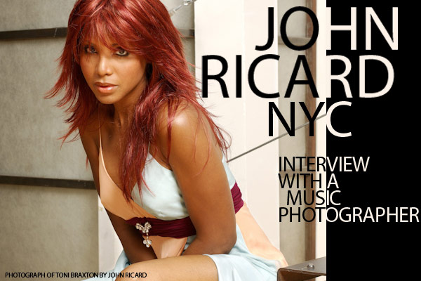 John Ricard, NYC Music Photographer