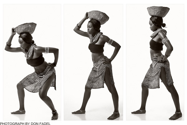 african tryptic by Don Fadel