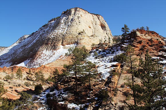 Mountain in Zion National Park