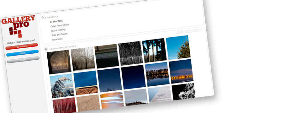 GalleryPro: A Portfolio Tool for Photographers