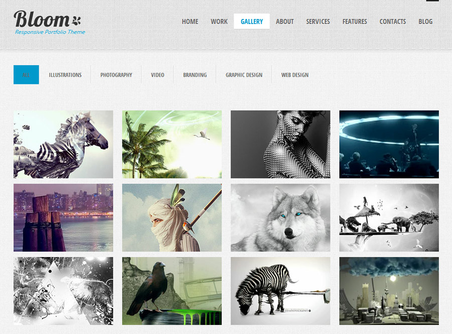 "WordPress Themes that Rock: ""Bloom"""
