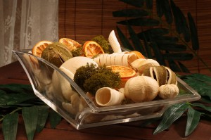 Catalog Shot of Potpourri for a catalog for a fragrance and candle importer