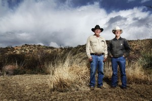 Ranchers near Superior, Arizona, 2012