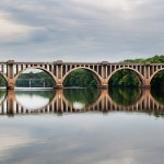 CSX_Train_Bridge_Downtown_Crossing_Rappahannock_River