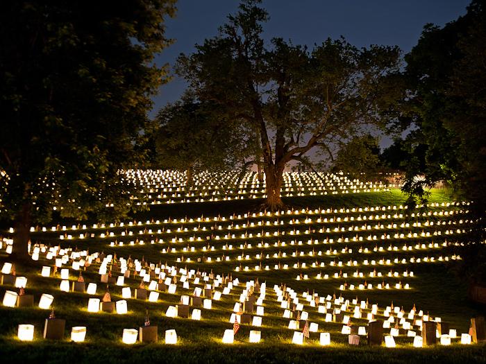 Fredericksburg_National_Cemetary_2012_Memorial_Day_Lumenaria