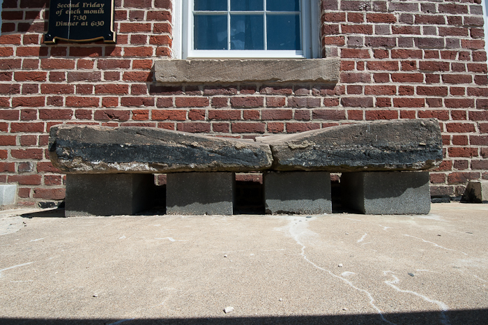Original_Step_To_Masonic_Lodge_Crossed_By_Jefferson_Washinton_And_Marquis_De_Lafyette_to_Name_A_Few
