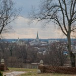 View_Of_Fredericksburg_At_Chatham_Manor_From_Where_Union_Troops_Staged_Canons_For_Invasion