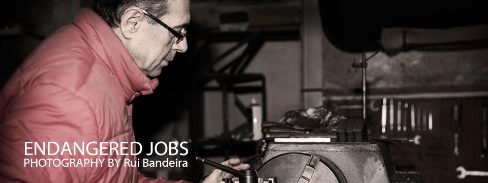"Rui Bandeira's ""Endangered Jobs"" Project"