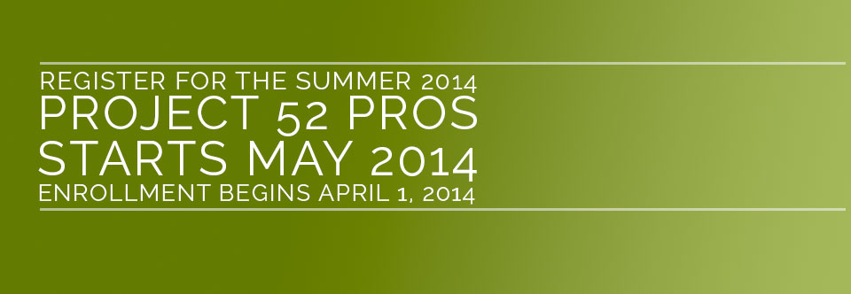 Project 52 Summer Group Opens For Registration