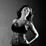 Fitness Shoot with a Model by Hiram Chee