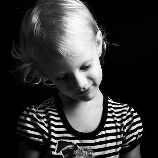 karsh inspiried portrait of Breanna by Jessica Edler