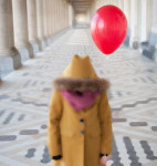 A Simple Photo of a Red Balloon