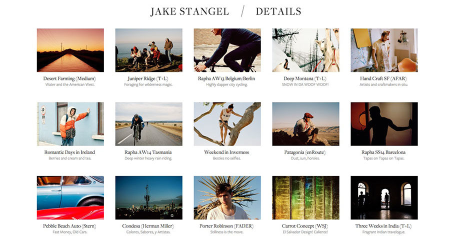 Jake Stangel on Starting Out as a Professional Photographer