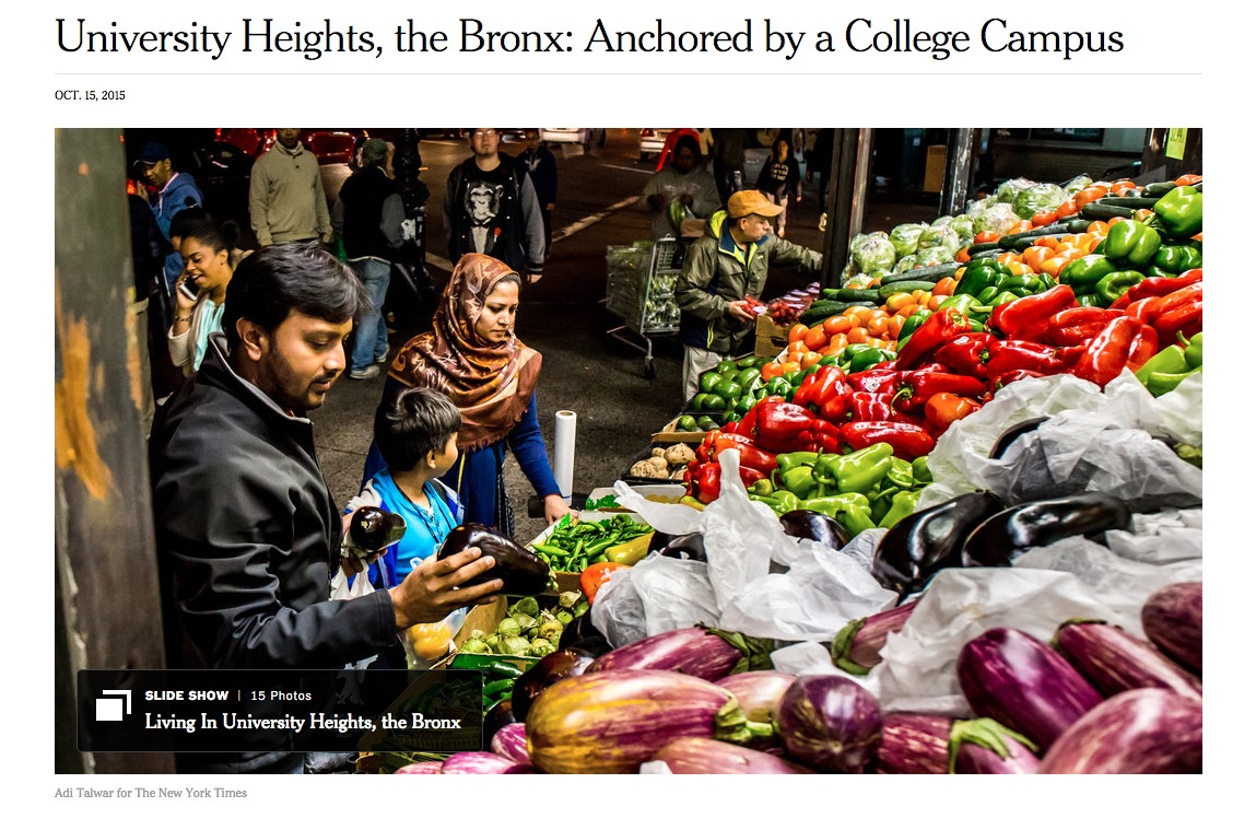 P52 Member Adi Talwar Shooting for the NYT