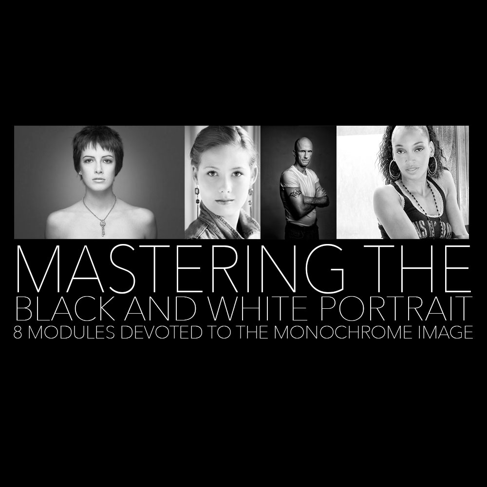 Mastering the black and white portrait