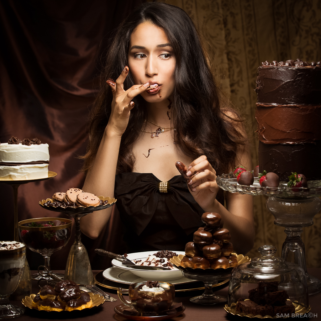 March Madness: 05; The Making of Chocolate Indulgence