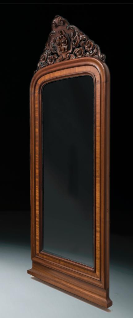 mirror with haze