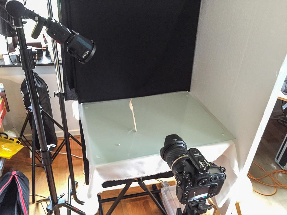 tabletop setup
