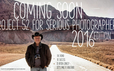 """Project 52 Professionals – 2016 Edition: """"Let's Get Serious"""""""