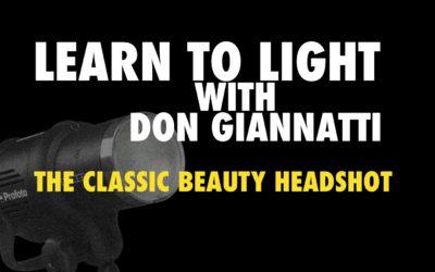 Lighting Class: Classic Beauty Lighting
