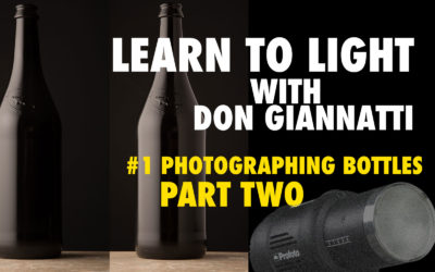 Lighting Class: Bottles (Learning to see Reflected Light)